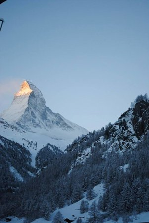 Hotel Matterhorn Focus : Matterhorn view from our balcony