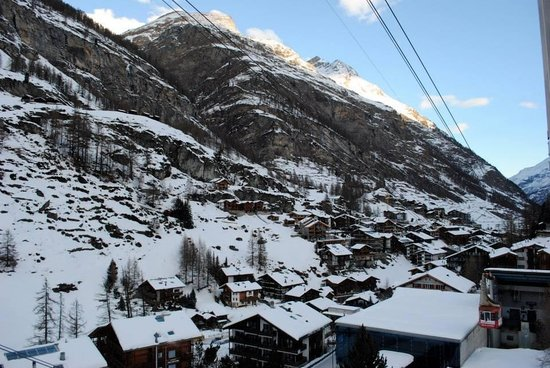 Hotel Matterhorn Focus : View of village from hotel