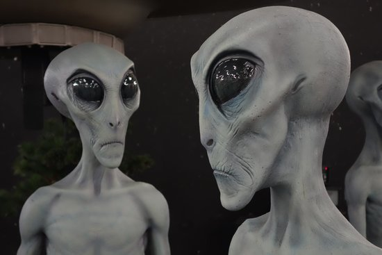 Roswell, Nowy Meksyk: A close encounter.