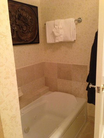 The Inn on Biltmore Estate: Separate Tub