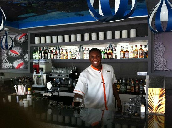 Hotel Riu Palace Jamaica: Modern Bar with great selection