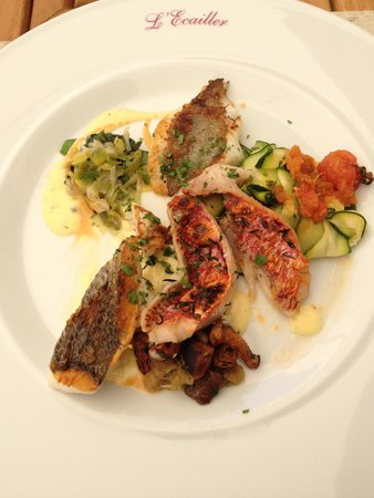 L'Ecailler : Mixture of Grilled Fish