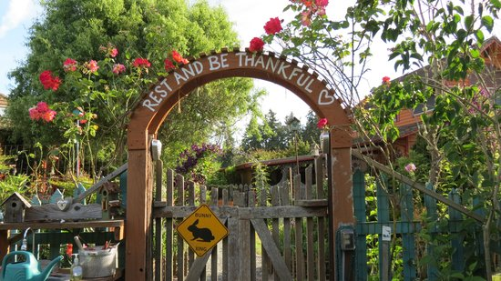 Farmhouse Bed & Breakfast: rest and be thankful