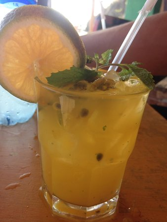 Hostel Los Tres Hermanos: Passion fruit mojito