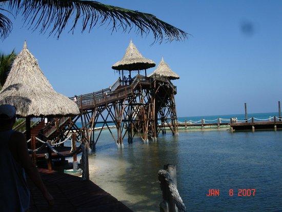Punta Faro : beach area