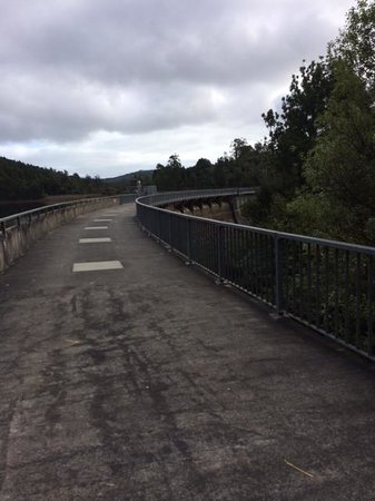 Waitakere Ranges : Top of Dam