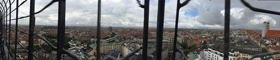 St. Peter's Church: panorama view from St Petes Tower
