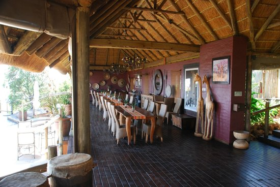 Ngoma Safari Lodge: Dining Area