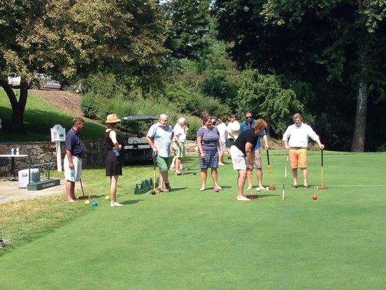 The Greenbrier: Croquet Field