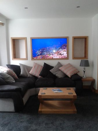 The Oceanic Hotel: living area