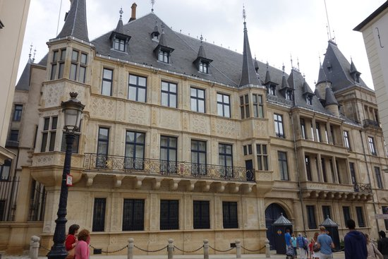 Palace of the Grand Dukes (Palais Grand-Ducal): Palace View