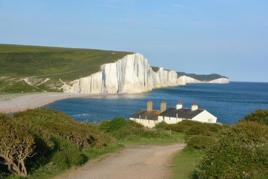 Seven Sisters Country Park: Seven Sisters from Seaford
