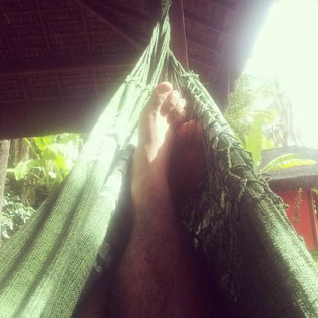 Hotel Vila dos Orixas: Descanso na rede do quarto