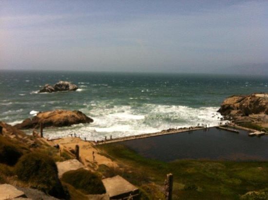 Lands End: Salt water bath ruins