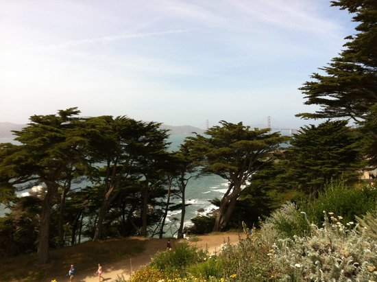 Lands End: view from Coastal Trail