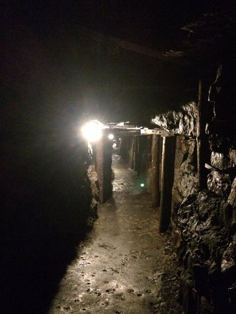 Arigna Mining Experience: Secondary tunnel