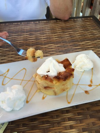 2nd Street Bistro: Bread pudding
