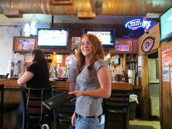 Junior's Grill & Ice House: our waitress