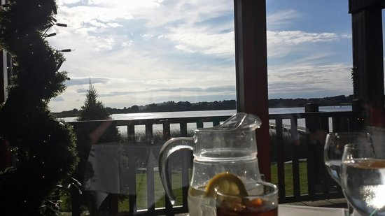 Wineport Lodge: View from our dinner table