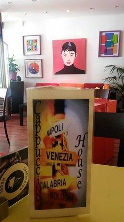 Cappucino House : menu