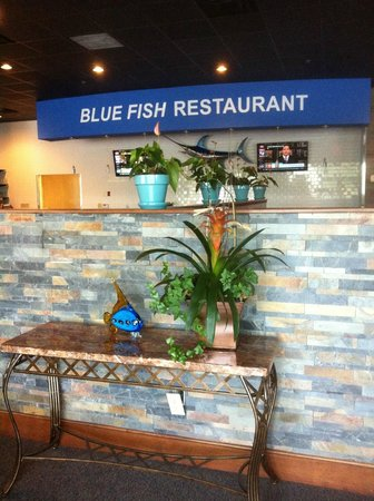 Blue Fish Restaurant : Very clean, welcoming