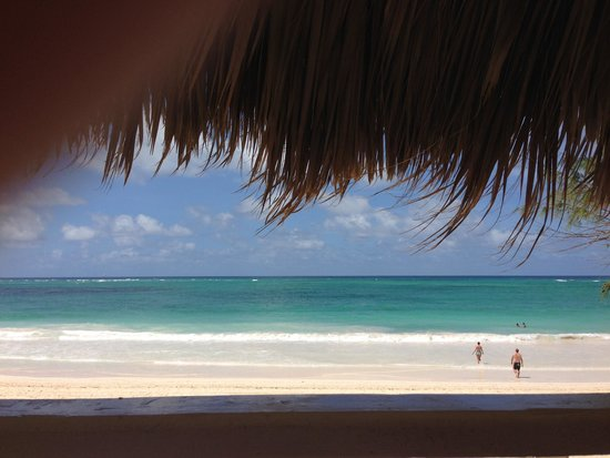 The Reserve at Paradisus Punta Cana: Beach view from the Massage table