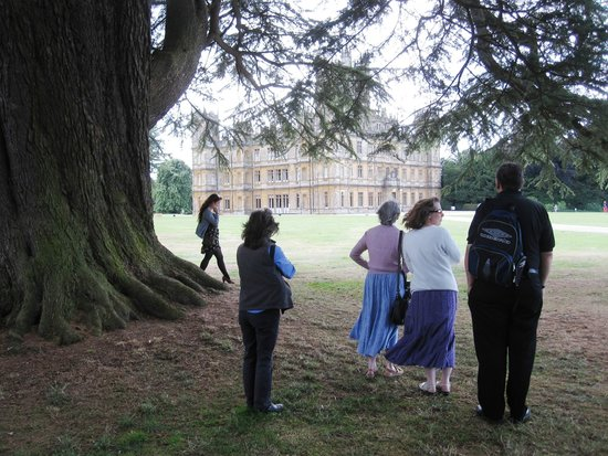 Highclere Castle : We were film stars for the day!