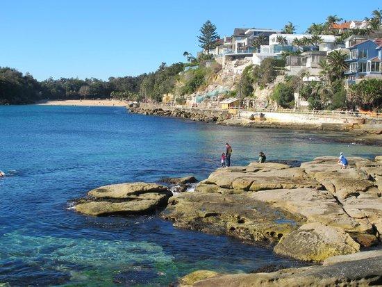 Shelly Beach: Looking towards Fairy Bower