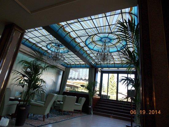 Hotel Simplon: Lobby