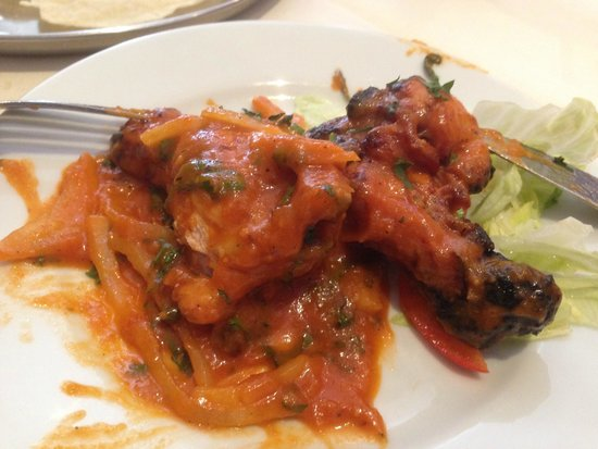 Ashoka West End: Chicken Chaat
