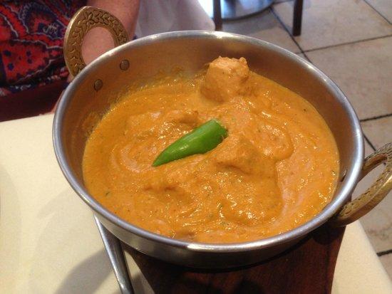 Ashoka West End: Creamy Chicken Jalfrezi