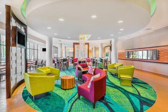 SpringHill Suites Anaheim Maingate: Lobby