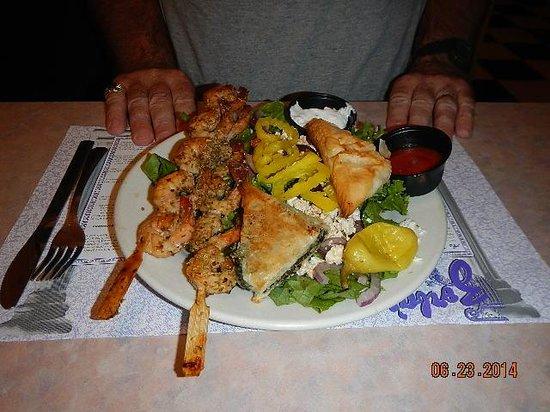Zorba's: Vern's dinner