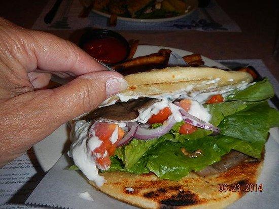 Zorba's: my meal