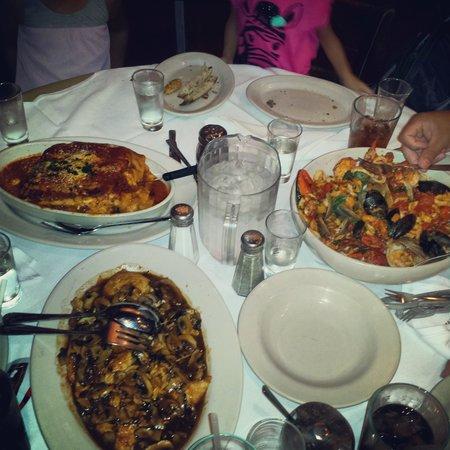 Carmine's : Lasagna, Chicken Marsala and Seafood Pasta