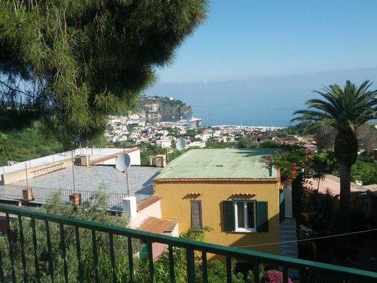 Hotel Villa Sirena: vista solarium
