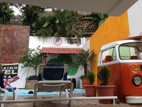 The Amazing Hostel Sayulita : alberca