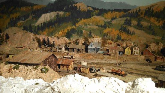 Model railroad in cheyenne depot museum.