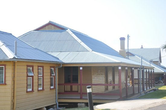 Manly Quarantine Station: One of the beautifully restored buildings on site