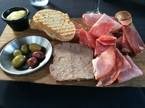 LuLu's at The Thompson House: Charcuterie Plate