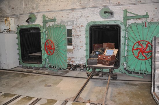 Manly Quarantine Station: Ovens used for sterilising luggage