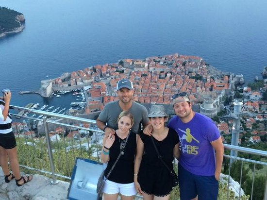 Dubrovnik Shore Tours: On top of Srd