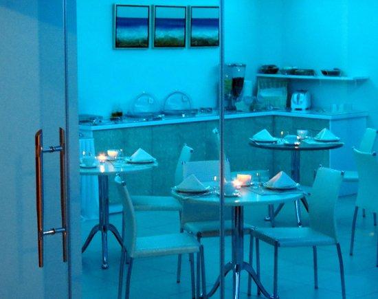 Saint Vlassis Hotel: atmosfera serale