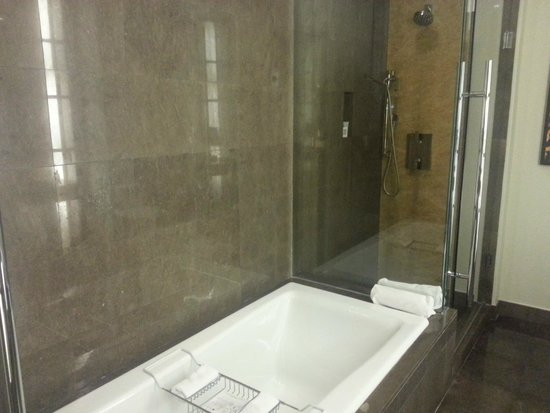 JW Marriott Marquis Miami: Separate tub & shower