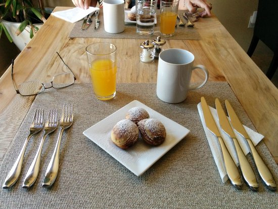 Sundance Bed and Breakfast : Breakfast course 1