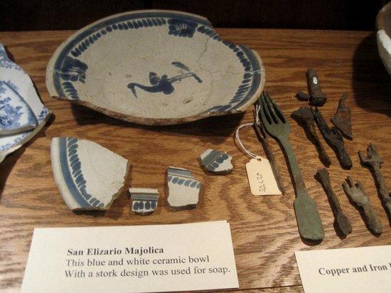 Mission Nuestra Senora de la Soledad: Mission artifacts