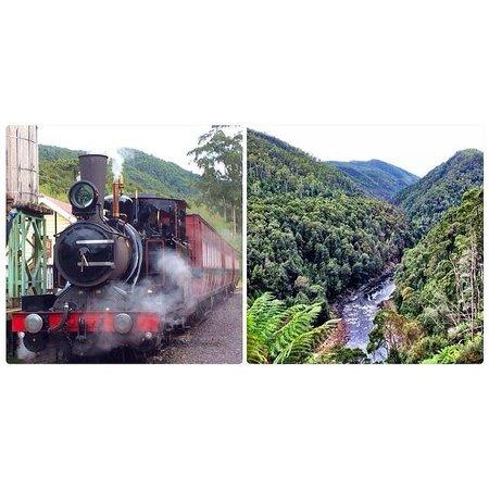 West Coast Wilderness Railway: Westcoast Wilderness Railway - Queenstown, Tas.