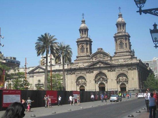 Catedral Metropolitana de Santiago: Metropolitan Cathedral, Plaza de Armas