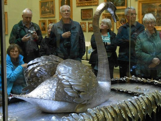 The Bowes Museum: Famous Silver Swan