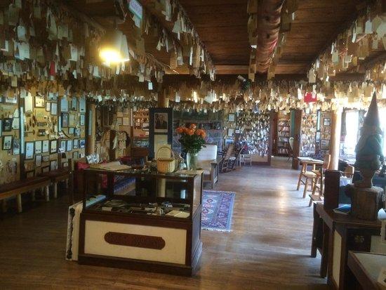 Baldpate Inn Restaurant: Key Room, keys from alll over the planet